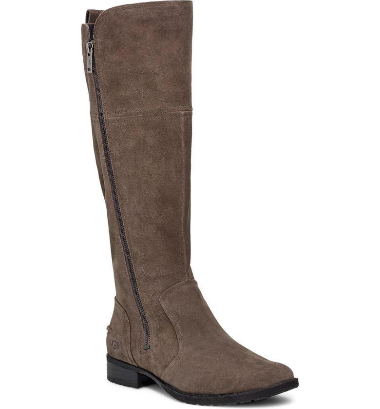 UGG<SUP>®</SUP> Sorensen Knee High Boot, Main, color, SLATE SUEDE