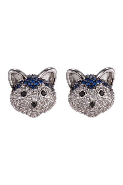 Image of Eye Candy Los Angeles Husky CZ Stud Earrings