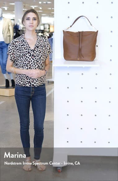 Small Christy Leather Hobo, sales video thumbnail