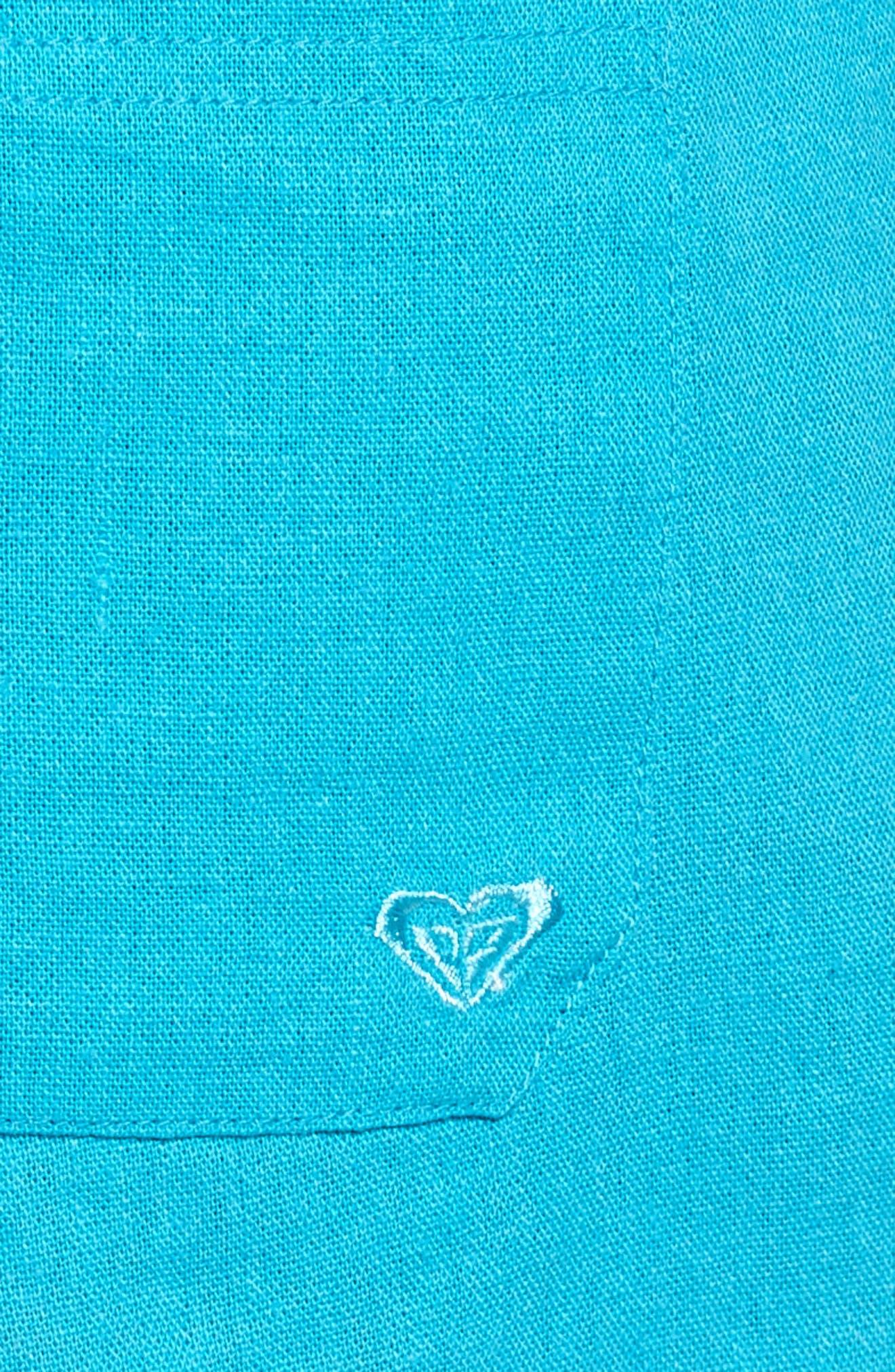 ,                             'Oceanside' Linen Blend Shorts,                             Alternate thumbnail 30, color,                             400