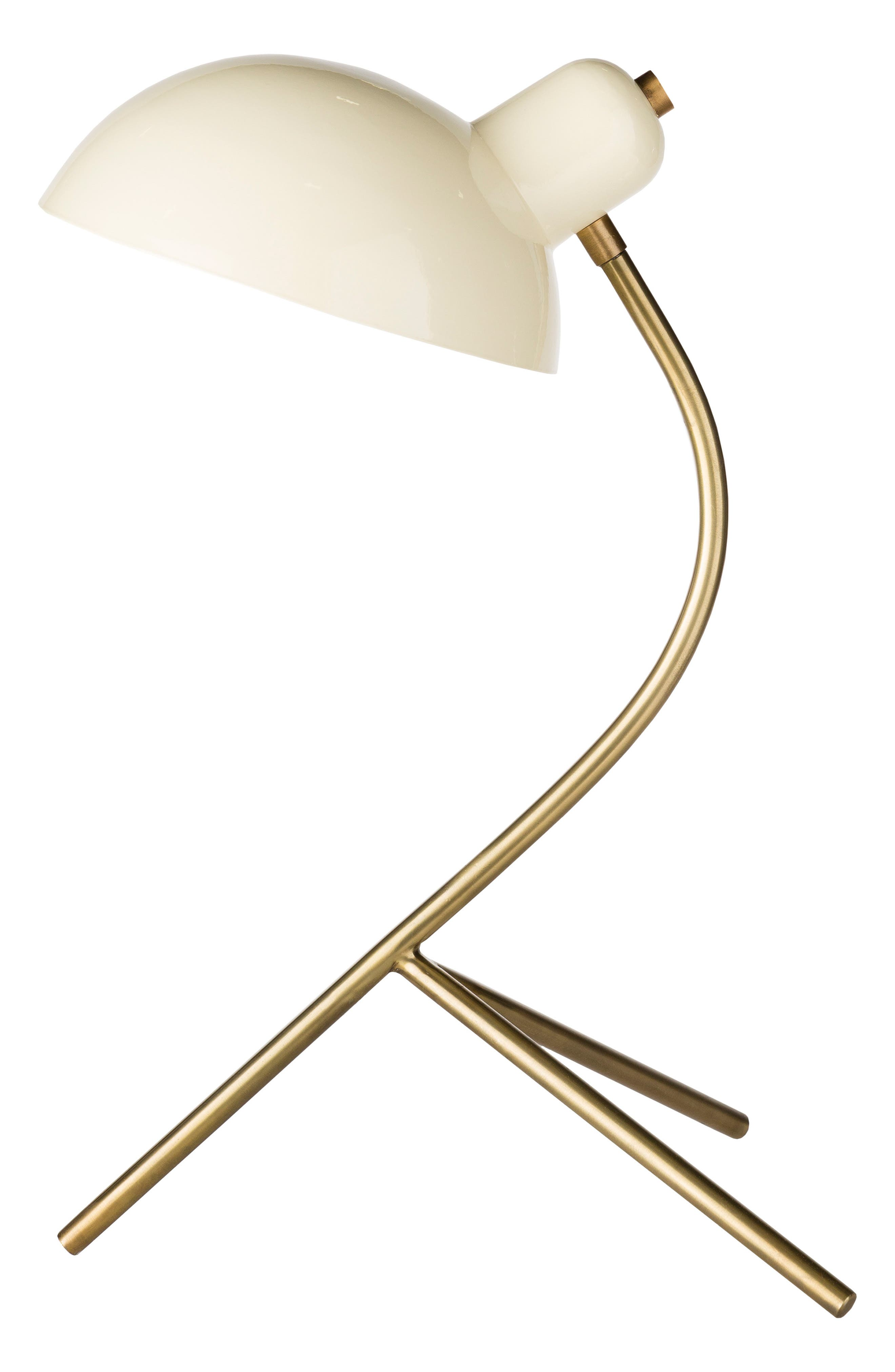 Surya Home Ula Table Lamp Size One Size  White