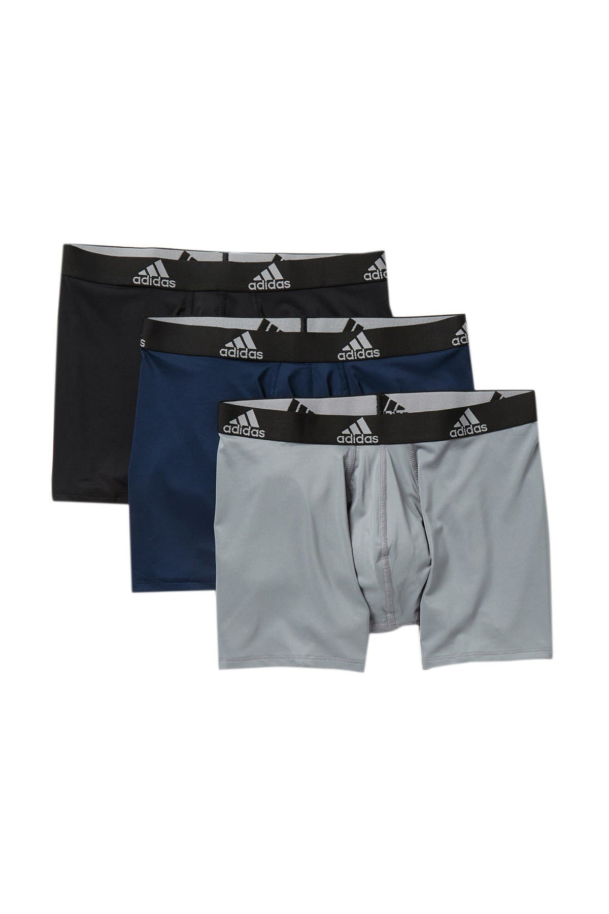Image of adidas Climalite Performance Boxer Briefs - Pack of 3