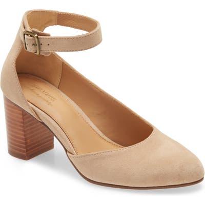 Soludos Gemma Ankle Strap Pump, Brown