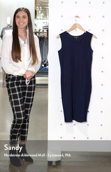 Scoop Neck Knit Sheath Dress, sales video thumbnail