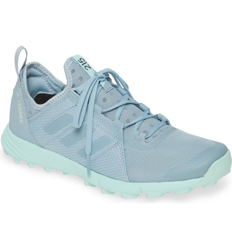 ADIDAS Terrex Agravic Speed Running Shoe, Main, color, ASH GREY/ ASH GREY/ CLEAR MINT
