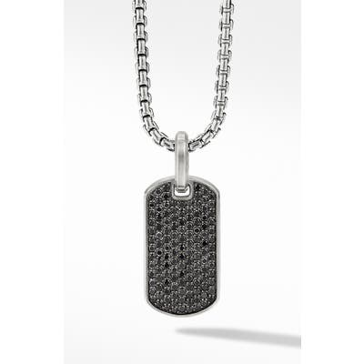 David Yurman Streamline Pave Tag