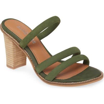 Alias Mae Evita Strappy Slide Sandal, Green