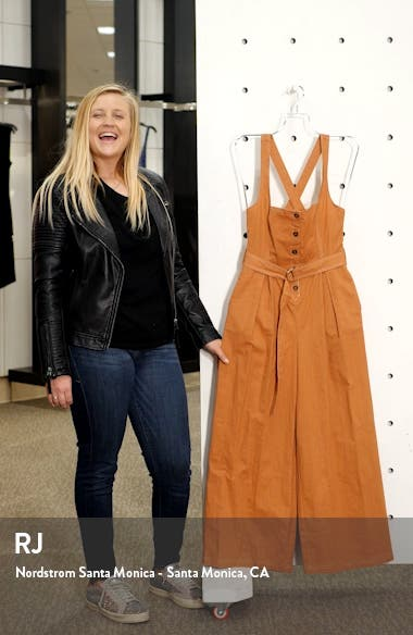 Warwick Belted Wide Leg Jumpsuit, sales video thumbnail
