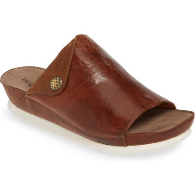 Bos. & Co. Pern Slide Sandal - Brown