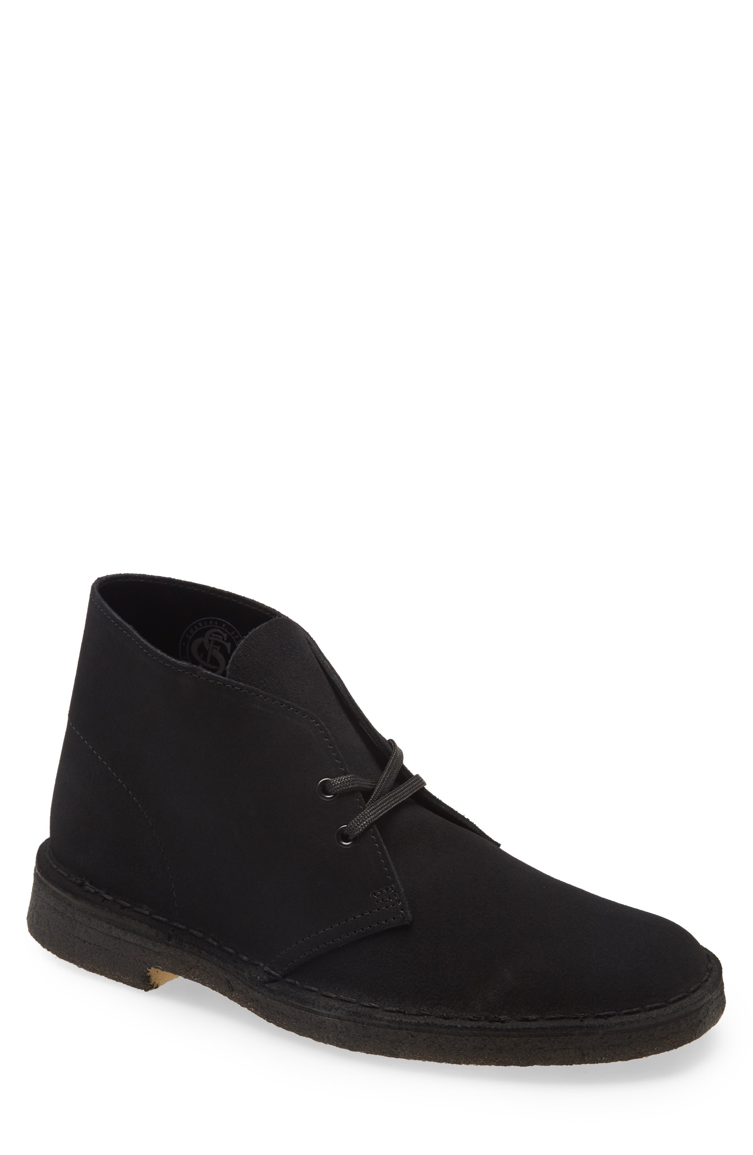 clarks men's desert boots sale
