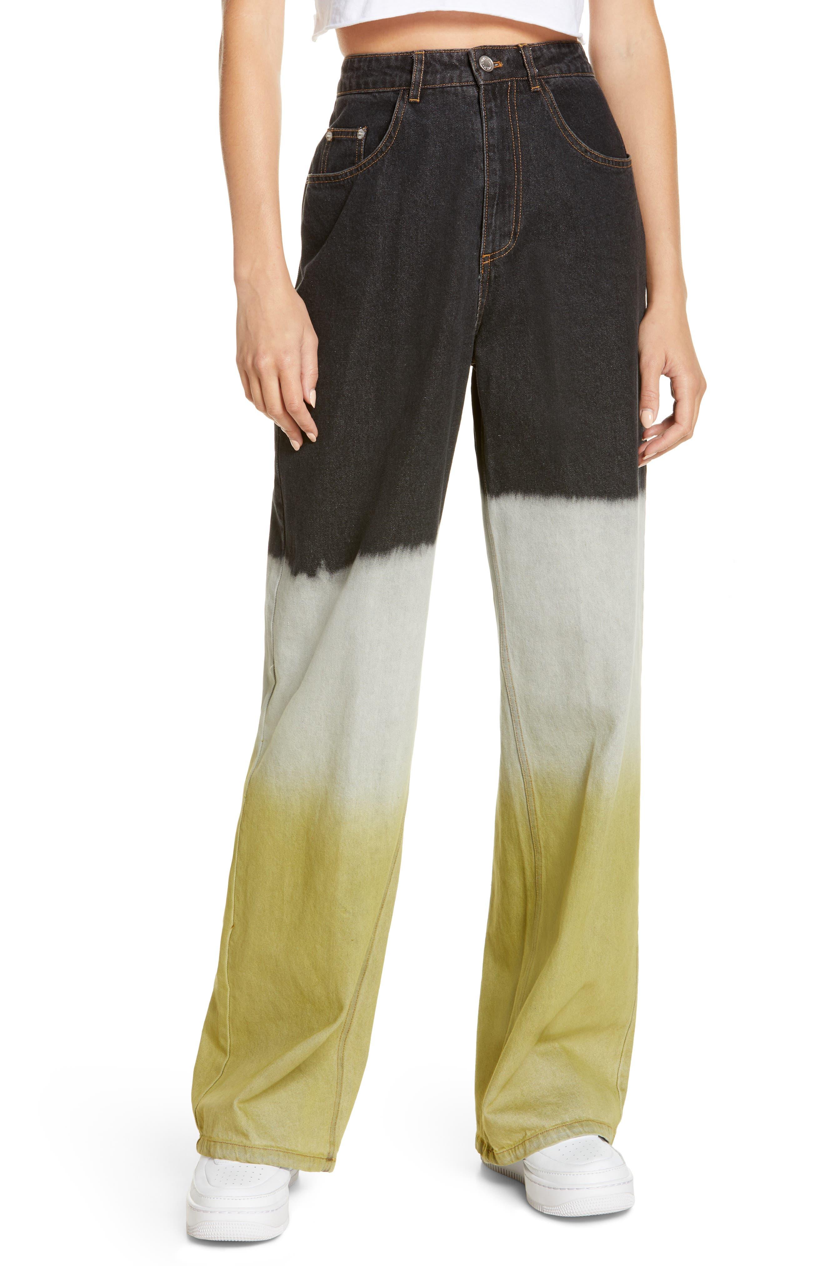 Women's By. dyln Claude High Waist Wide Leg Jeans
