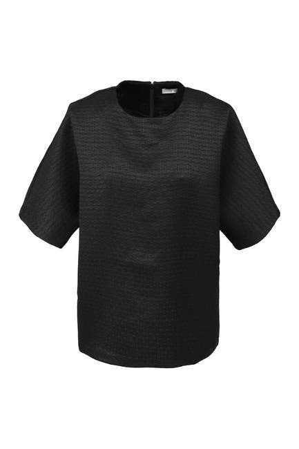 Image of FRNCH 1/2 Sleeve Woven Top