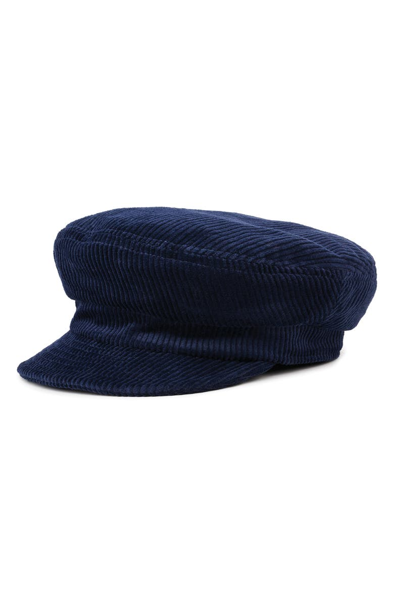 BRIXTON Fiddler Unstructured Cap, Main, color, NAVY