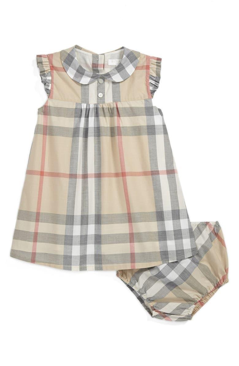BURBERRY 'Davina' Dress, Main, color, 271