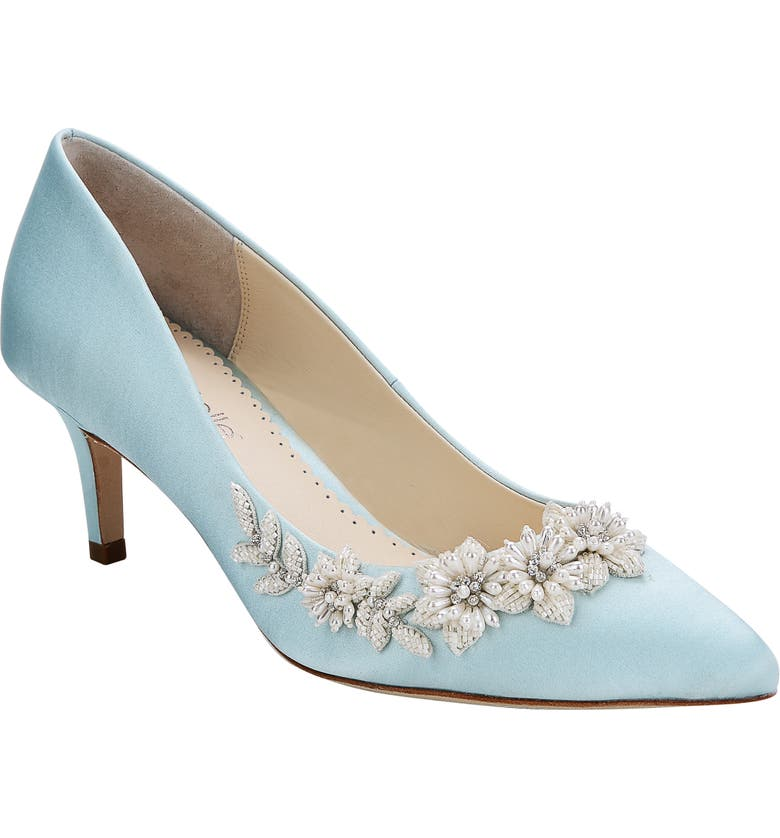 Iris Pointy Toe Pump by Bella Belle