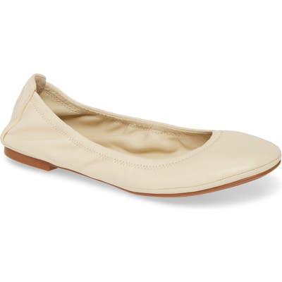Tory Burch Eddie Ballet Flat- Beige