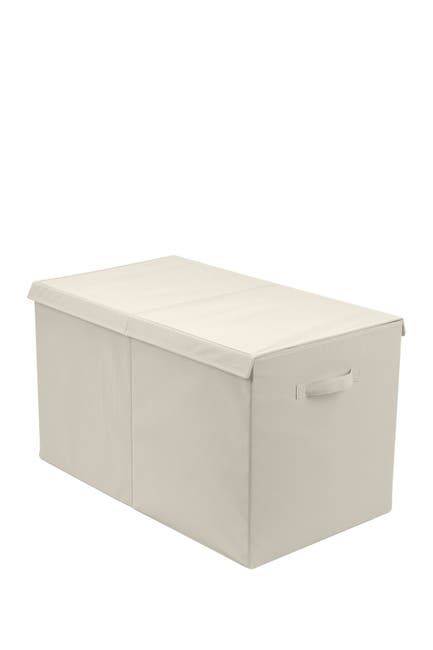 Image of Sorbus Storage Fabric Toy Chest - Beige