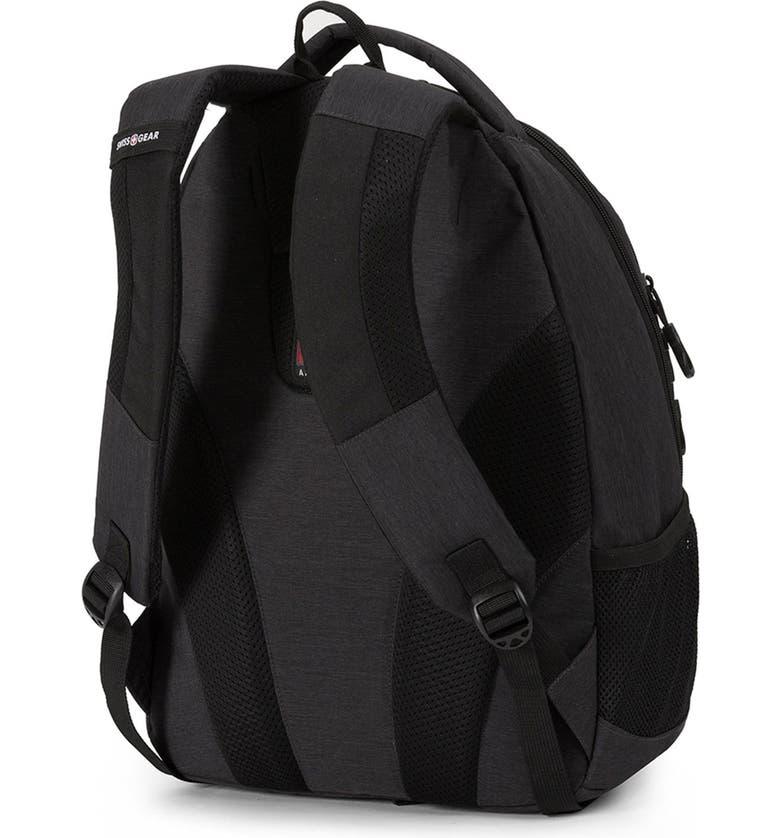 SWISSGEAR 1186 Laptop Backpack, Main, color, HEATHER/BLACK COD
