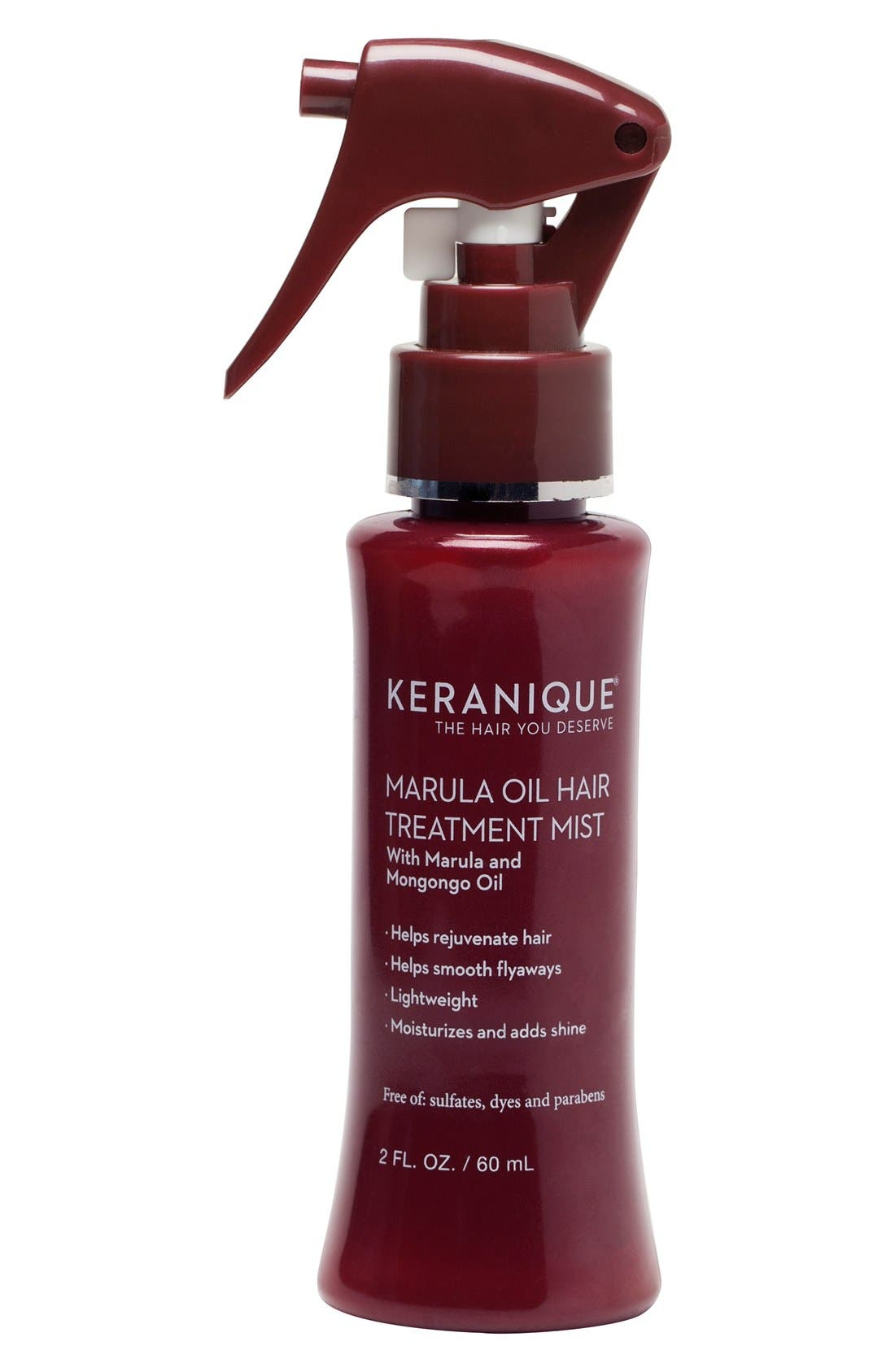 Marula Oil Hair Treatment Mist, Main, color, NO COLOR