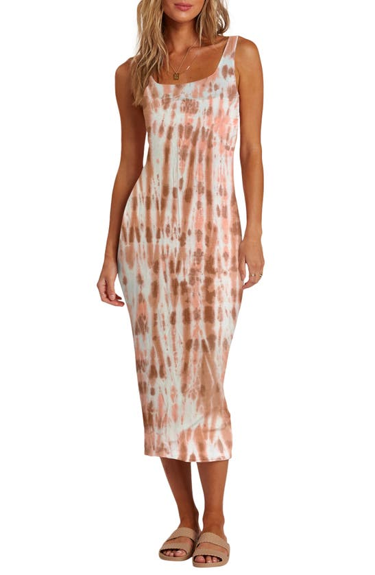 Billabong Midi dresses WARM WAVES TIE DYE SUNDRESS