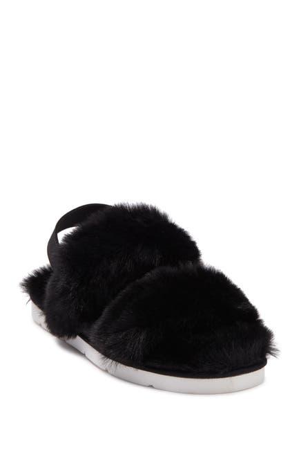 Image of Dolce Vita Pochy Faux Fur Slingback Slipper