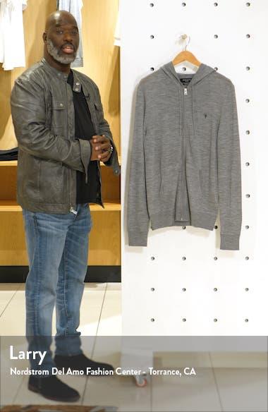 Mode Slim Fit Merino Wool Zip Hoodie, sales video thumbnail