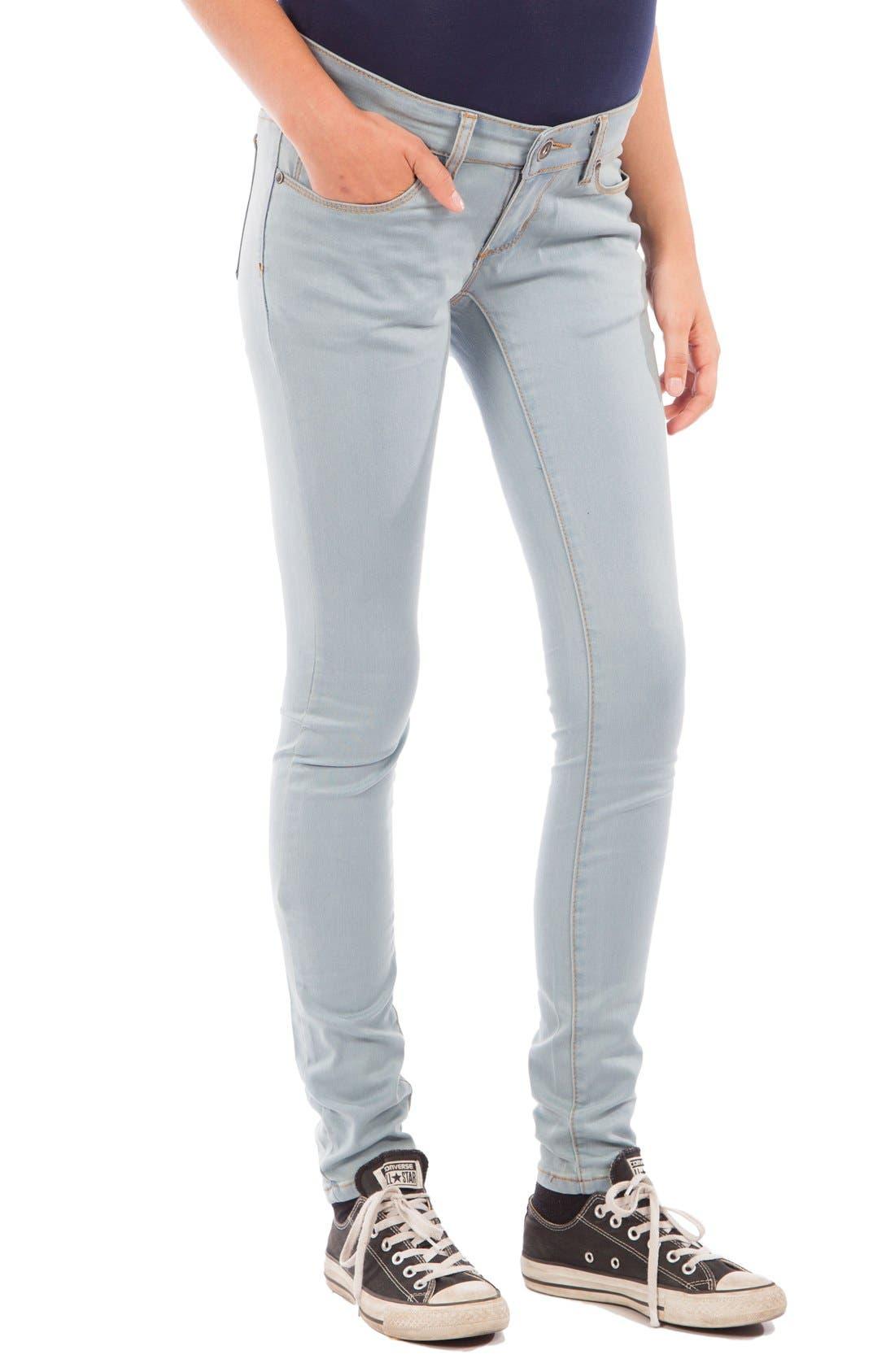 9ef463857cc78 Modern Eternity Skinny Maternity Jeans, Blue