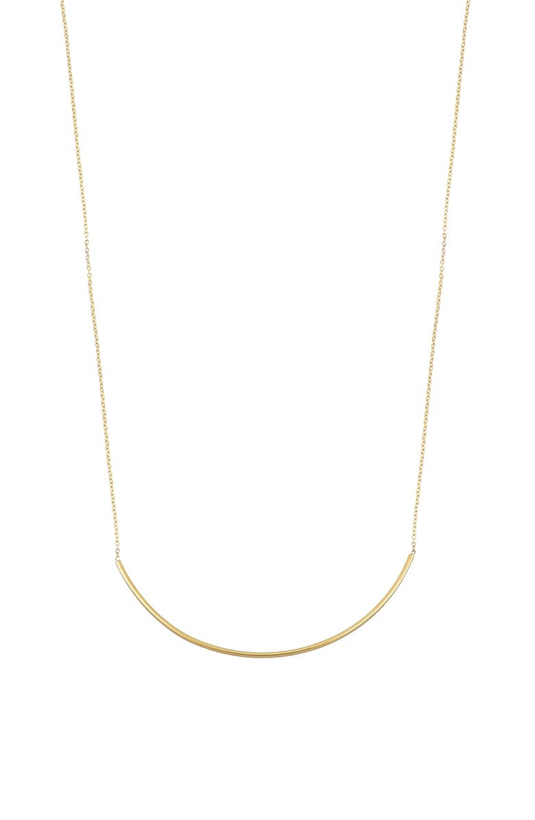 BONY LEVY 14K Gold Bar Necklace, Main, color, YELLOW GOLD