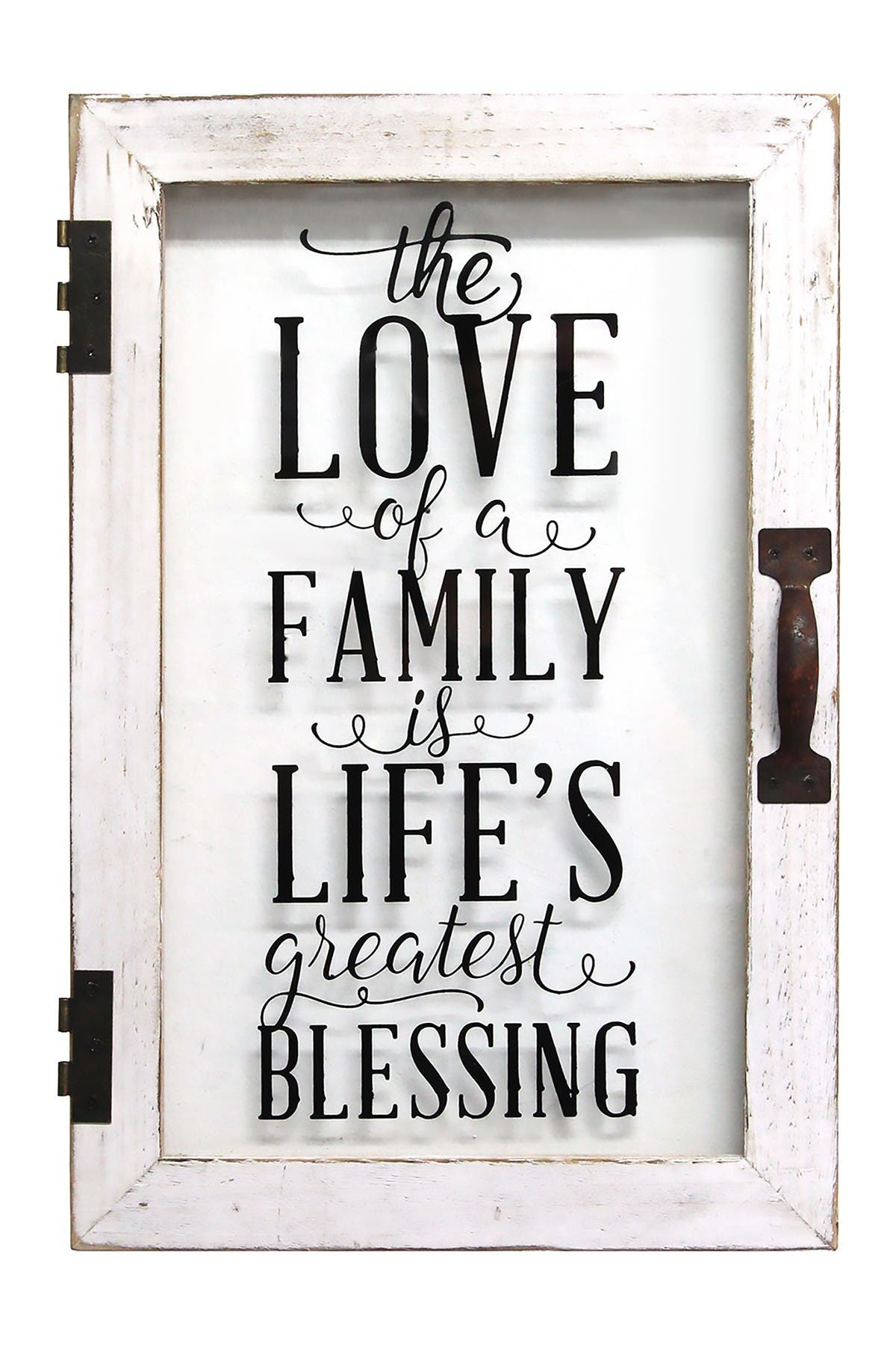 Image of Stratton Home Life's Blessings Printed Glass Decor