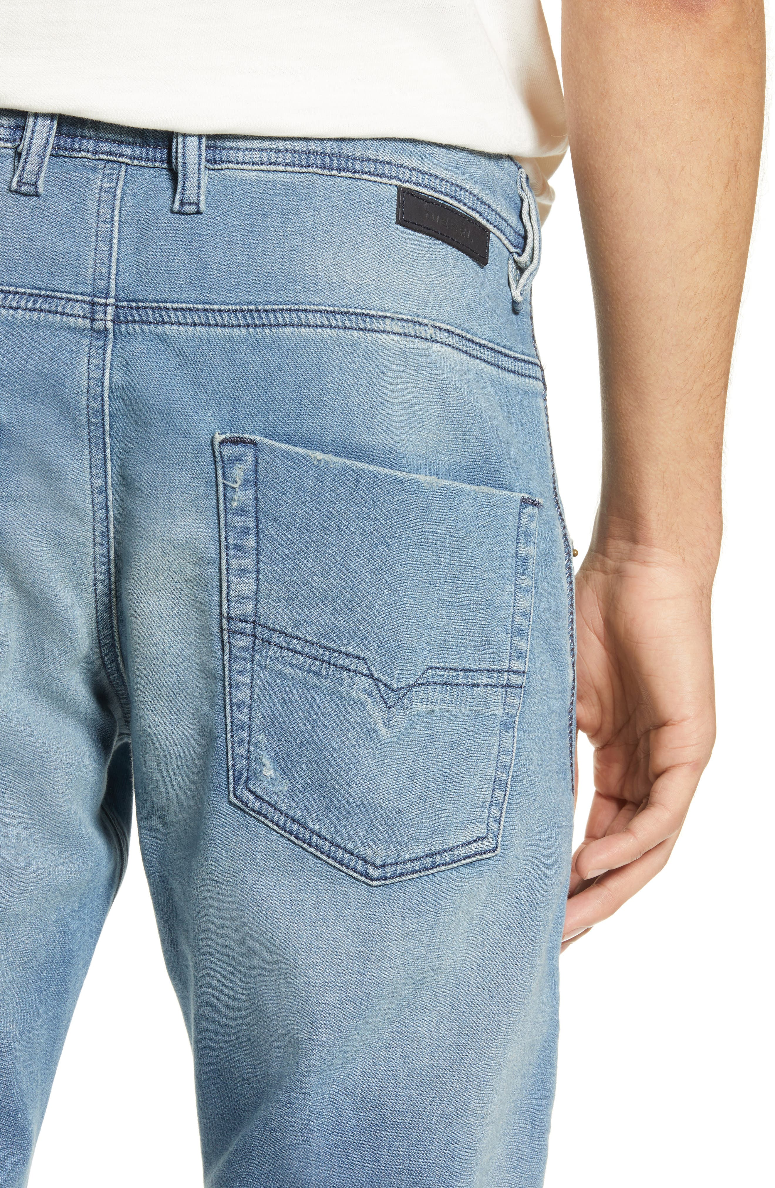 ,                             Krooley Jogg Slouchy Skinny Fit Jeans,                             Alternate thumbnail 5, color,                             086AY