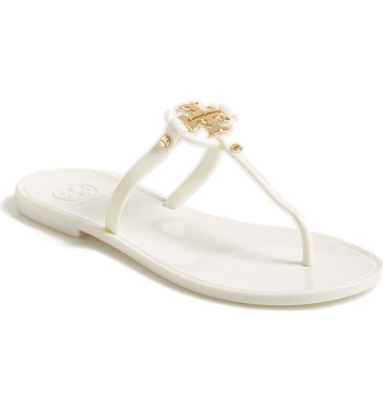 TORY BURCH Mini Miller Sandal, Main, color, IVORY
