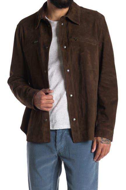 Image of Salvatore Ferragamo Collared Snap Down Button Shirt