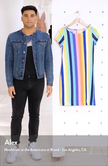 Marlowe Vertical Stripe T-Shirt Dress, sales video thumbnail