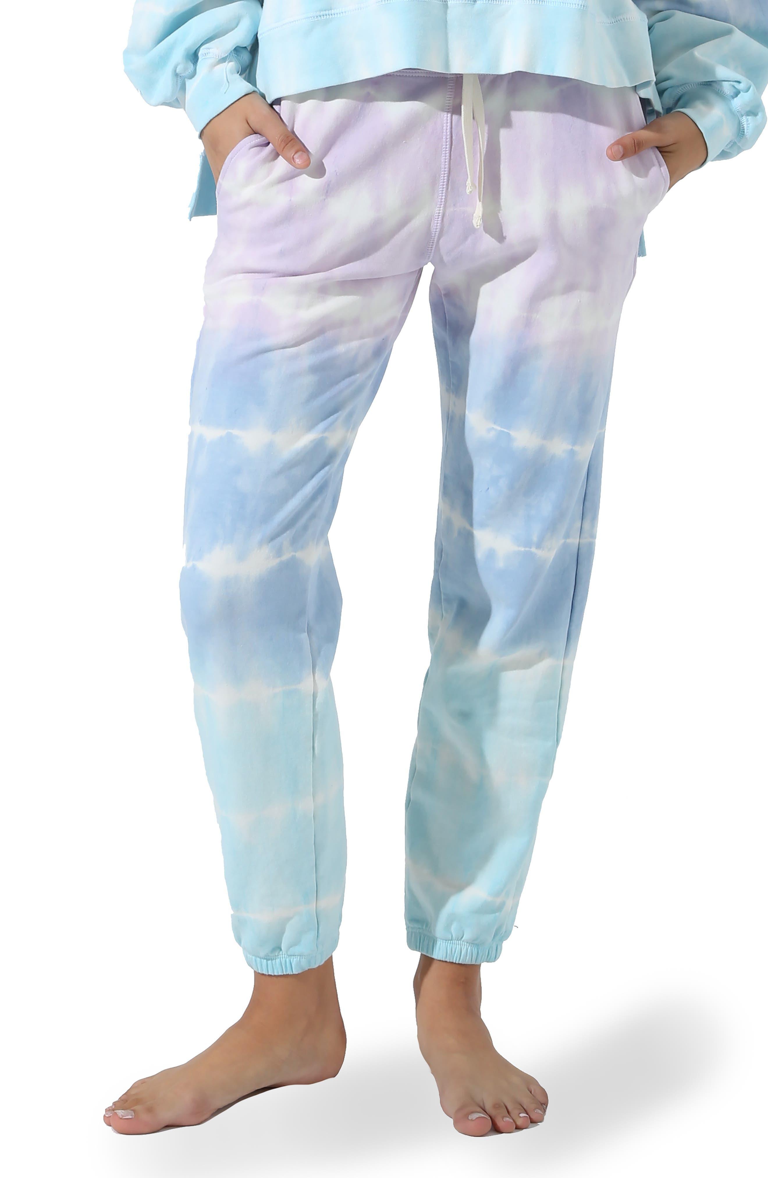 Pacifica Shockwave Tie Dye Joggers