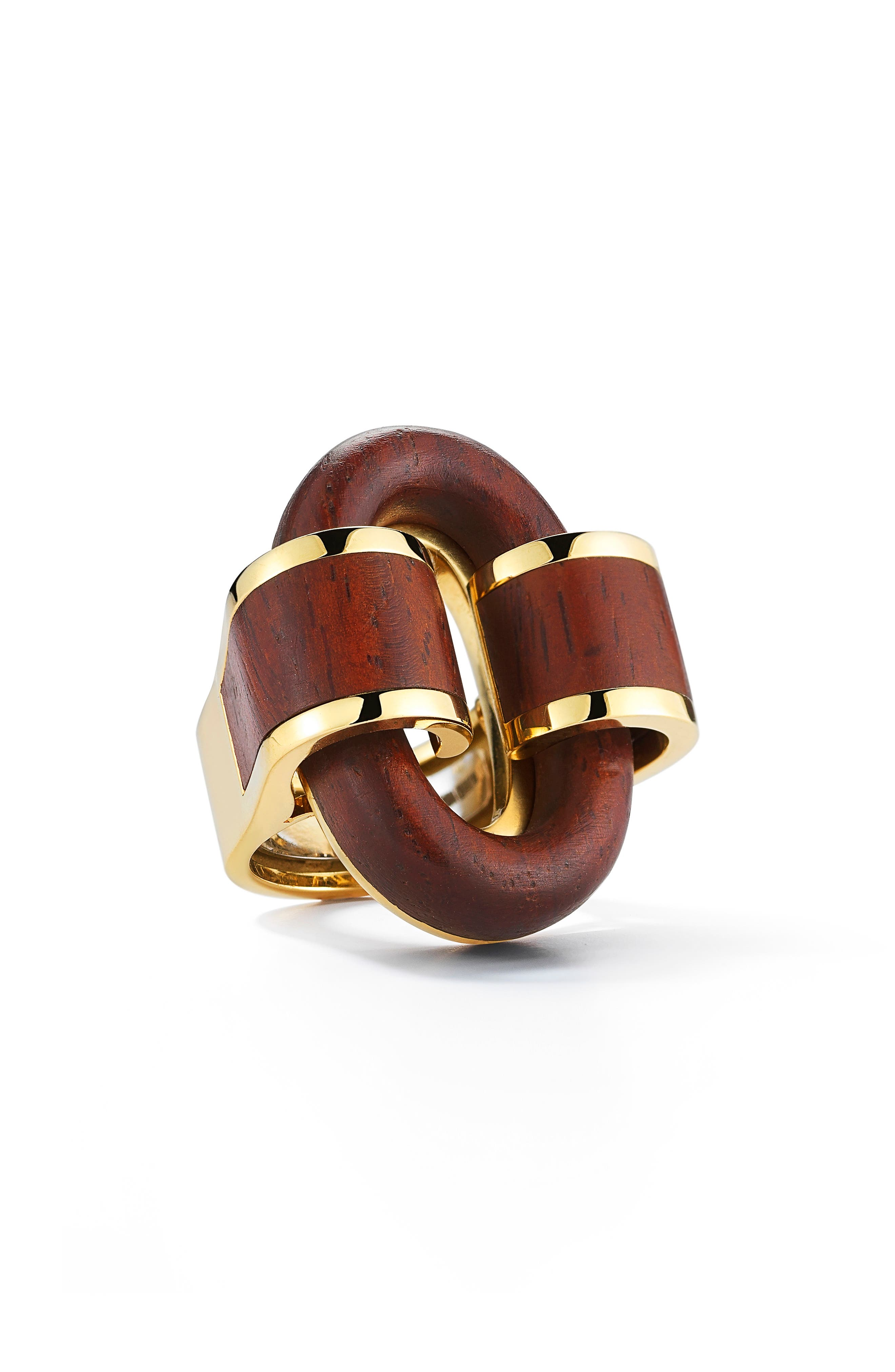Woodworks Rosewood Buckle Ring