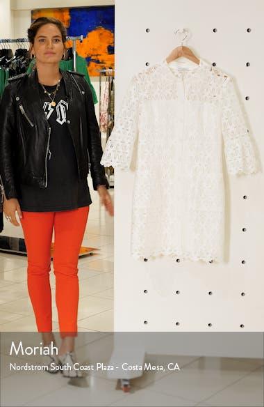 Lauretta Eyelet Lace Minidress, sales video thumbnail