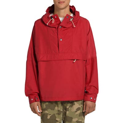 The North Face Windjammer Water Repellent Hooded Jacket, Red