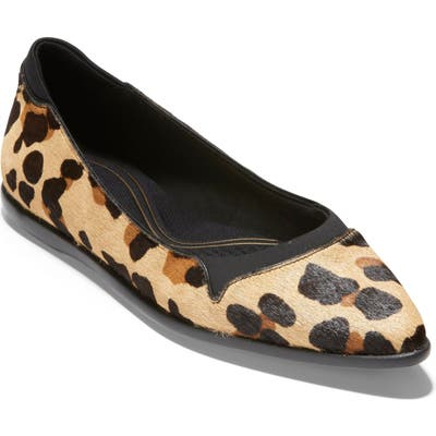 Cole Haan Grand Ambition Pointy Toe Flat, Brown