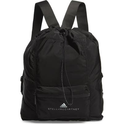 Adidas By Stella Mccartney Badge Of Sports Packable Backpack - Black