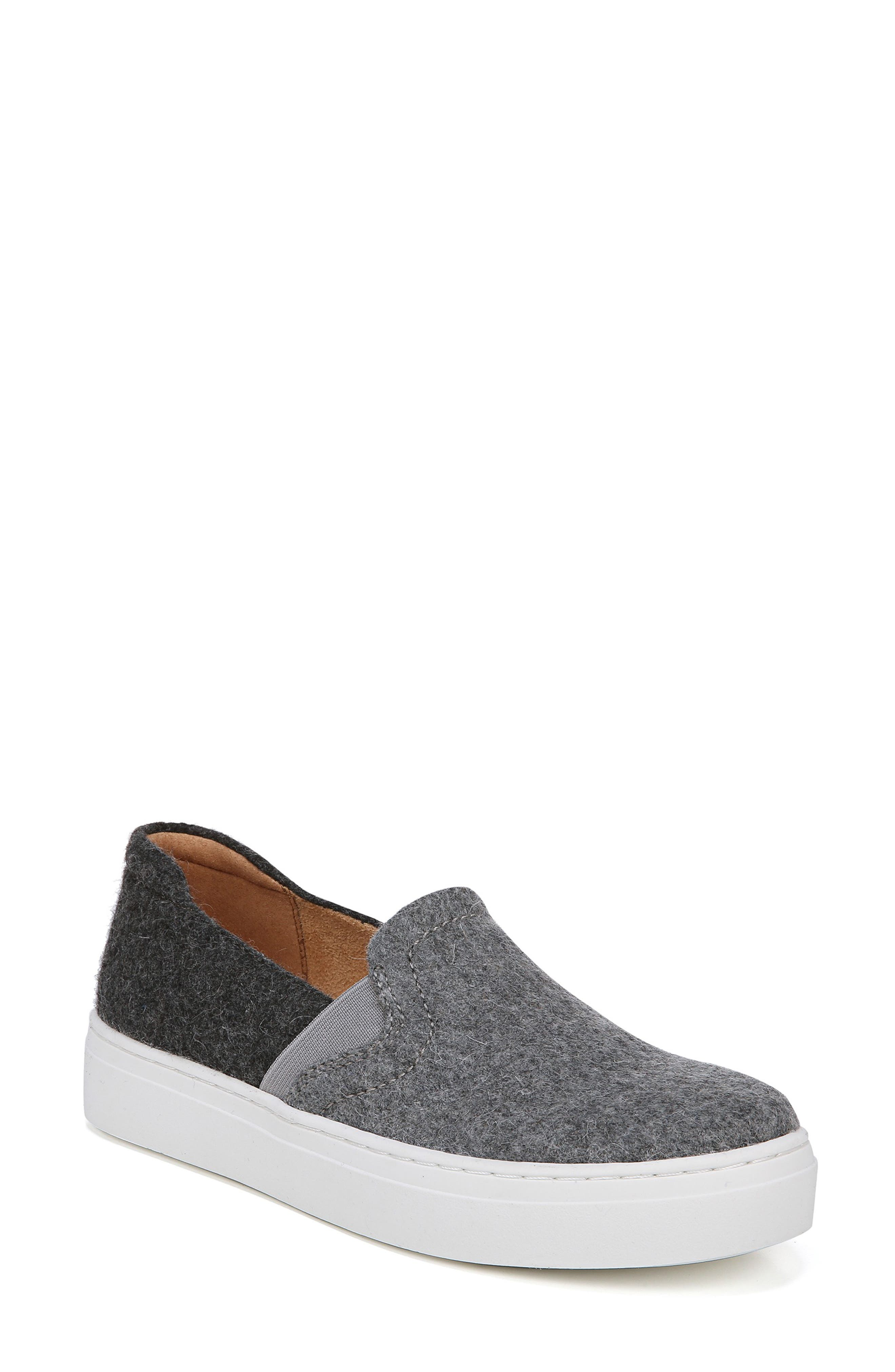 Naturalizer Carly Slip-On Sneaker, Grey