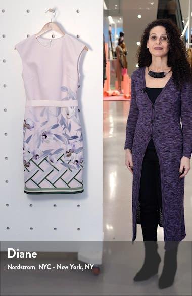 Hailey Everglade Body-Con Dress, sales video thumbnail