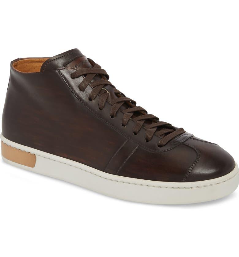 MAGNANNI Gunner Mid Top Sneaker, Main, color, 200