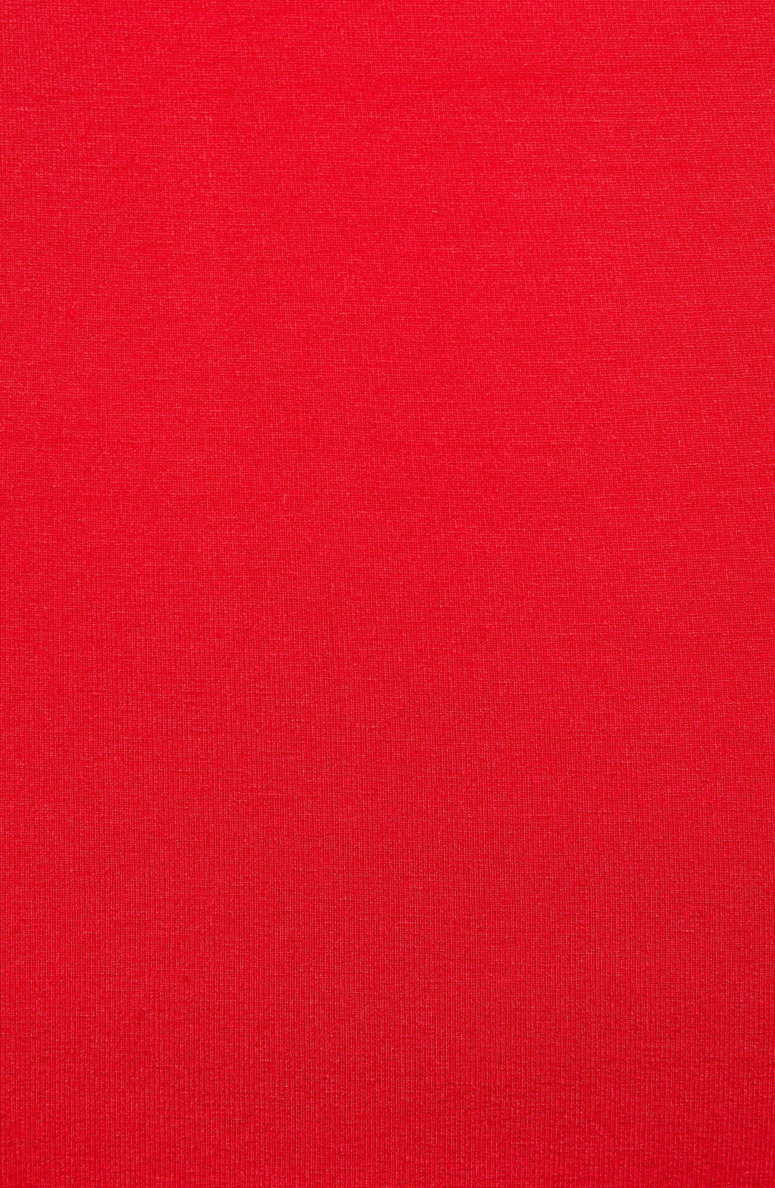 ,                             Baseball Logo Jersey Body-Con Dress,                             Alternate thumbnail 6, color,                             600