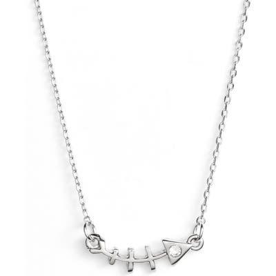 Uncommon James By Kristin Cavallari Fish Bone Statement Necklace