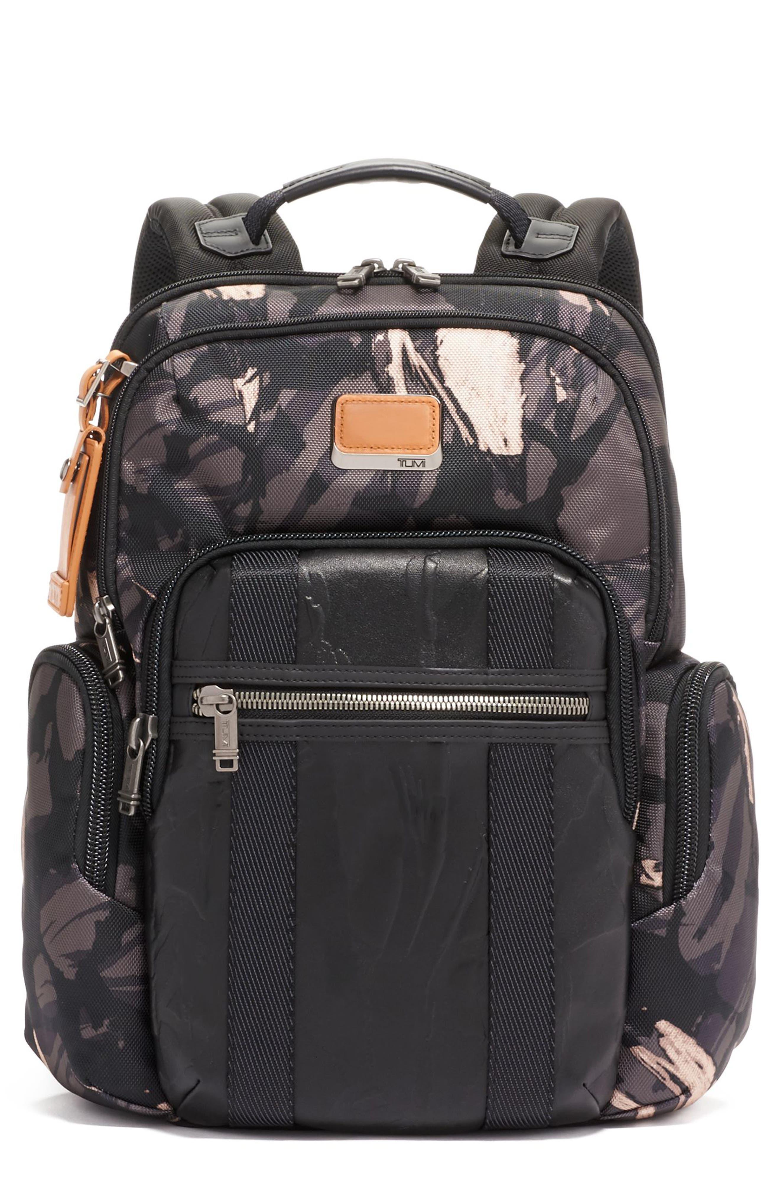 Alpha Bravo Nellis Backpack, Main, color, GREY HIGHLANDS PRINT