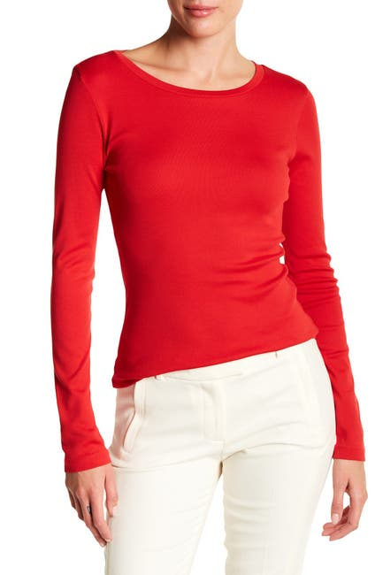 Image of J. Crew Perfect Long Sleeve T-Shirt