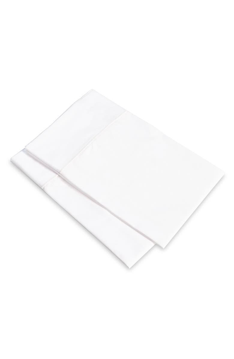 SIGNORIA FIRENZE Luce 600 Thread Count Set of 2 Pillowcases, Main, color, 100