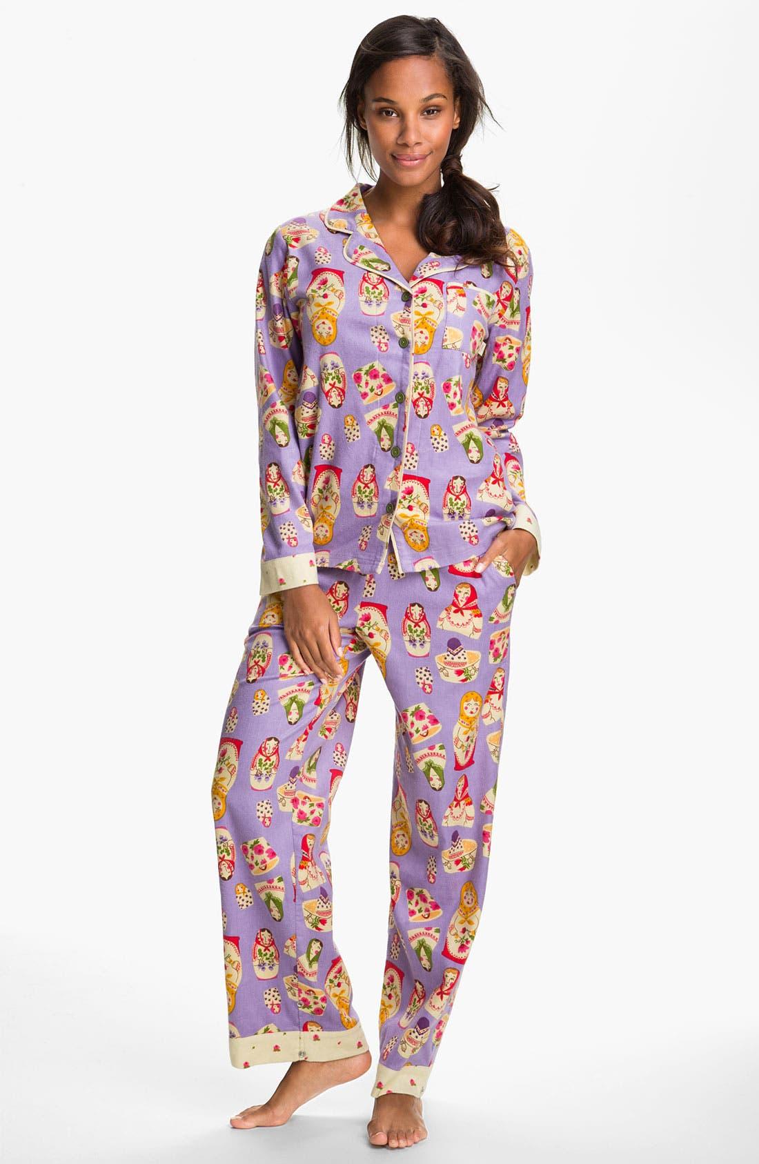 ,                             Flannel Pajamas,                             Main thumbnail 62, color,                             540