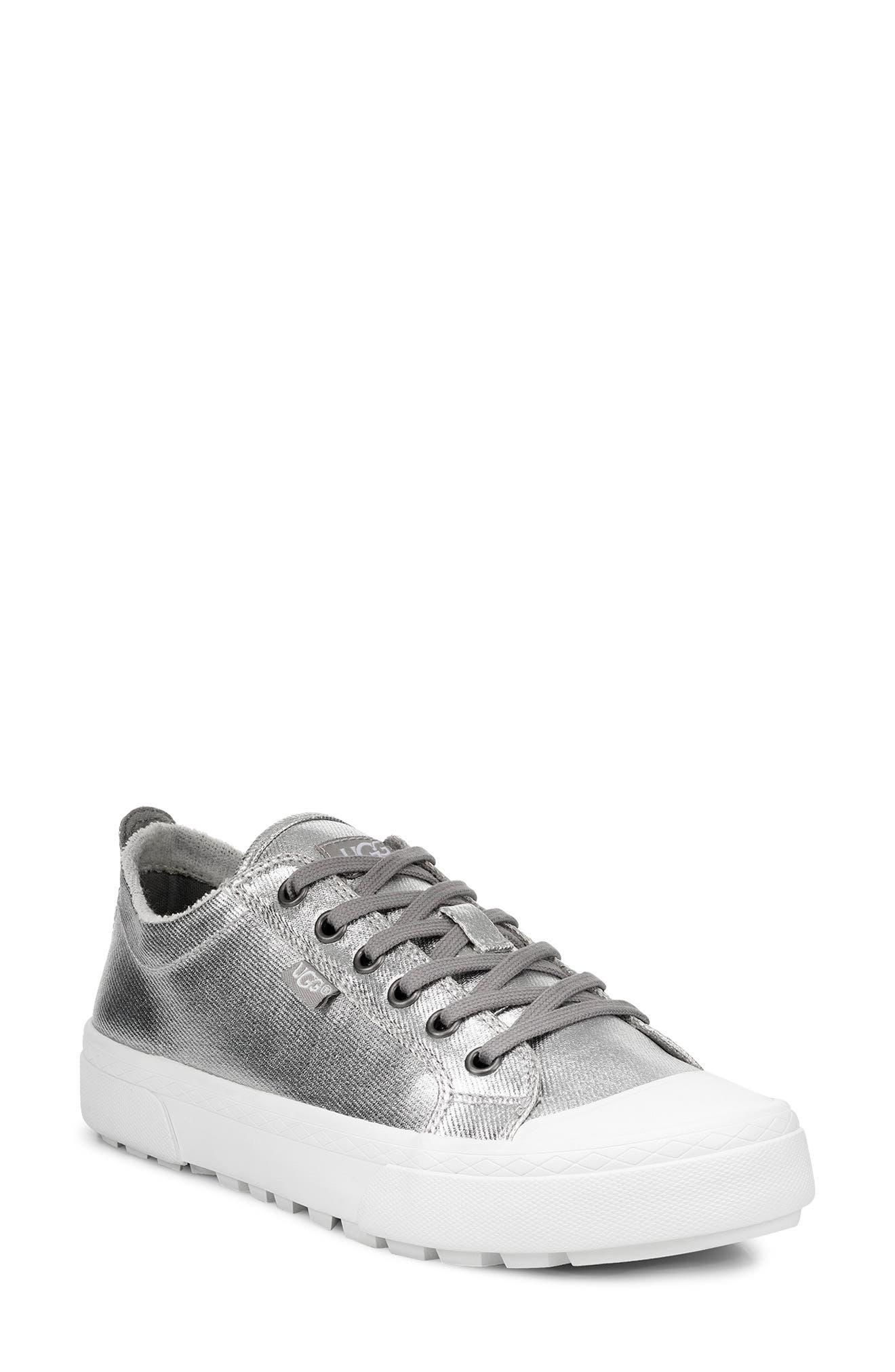 Ugg Aries Platform Sneaker, Metallic