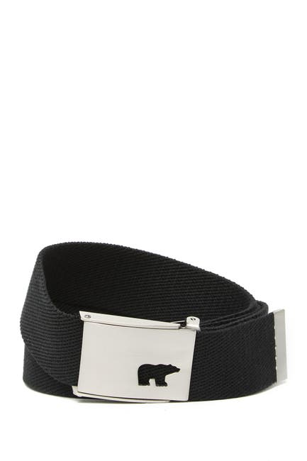 Image of Jack Nicklaus Cutout Bear Woven Belt